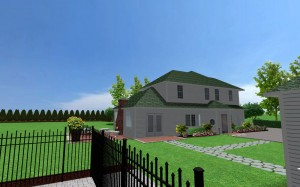 3d side house 1